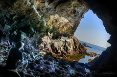Grotte des Korrigans (Ccile Delpoo) Tags: korrigans grotte pouliguen cave sea mer ocean ceciledelpoio