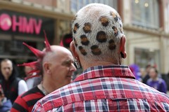 Punk Festival, (LYNNE Mc) Tags: blackpool streets people punks hairstyles hair daysout happydays festival portraits characters disguises canon5dmk3 lancashire lynnemc sunday august2016 fashion