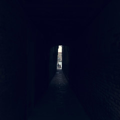 end of tunnel (Anders Hviid) Tags: wendy marta venice
