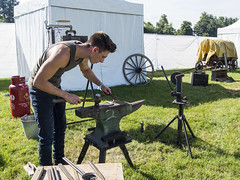 BBC Countryfile Live (mikejsutton) Tags: bbc countryfile live 2016 blenheim palace oxfordshire mike sutton show pigs piglets adam henson john hammond sheep cattle cows bull milking robotic goat bird prey hawk scythe bee keeping basket making camera tower joules arena horses horse competition equine display craven arms band music cars funfair fair vintage craft crafts chainsaw carving painting clay blacksmith stihl obscura