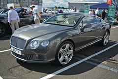 Bentley Continental GT (CA Photography2012) Tags: 29jta bentley continental gt mulliner w12 coupe grand tourer supercar luxury cruiser british ca photography automotive exotic car spotting drivers club silverstone