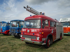 Bedford TK Fire Engine (Ben Matthews1992) Tags: welland 2016 steam rally classic commercial lorry truck wagon waggon vehicle transport haulage old vintage historic preserved preservation bedford tk fire engine firebrigade hampshire tender emergencyservices
