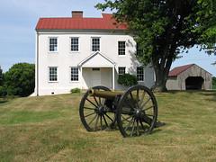 Best Farm with Cannon (Photo Squirrel) Tags: bestfarm maryland cannon artillery civilwar moncacybattlefield frederickmd