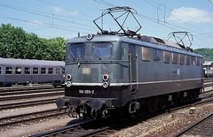 150 055  Ulm Hbf  22.05.91 (w. + h. brutzer) Tags: analog train germany deutschland nikon eisenbahn railway zug trains db 150 locomotive ulm lokomotive elok eisenbahnen e50 eloks webru