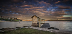 Right Here Waiting (EmeraldImaging) Tags: city camp seascape sunrise bay harbour cove manly sydney nsw watsons