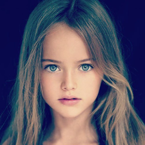 Cute girls with green eyes