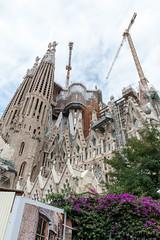 Barcelona (dbenyakar) Tags: barcelona night spain sagradafamilia sagradafamlia 2014 antonigaudi antonigaud nikond700 nikkor2470