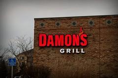 Damon's Grill... (Nicholas Eckhart) Tags: ohio usa retail bar america restaurant us cleveland grill westlake oh stores damons 2014