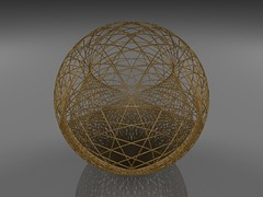 Inverting a cardioidal variation (fdecomite) Tags: math inversion povray cardioid