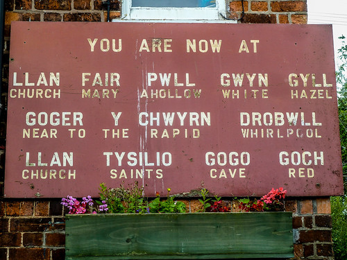You are now at Llanfair PG