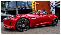 5D-1855-Auto (ac   photo albums) Tags: red car sport race racecar speed jaguar endurance spa sportcar spafrancorchamps ftype jaguarftype