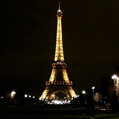 Eiffel Tower at night #travel #paris #france #toureiffel