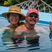 2014 - Zihuatanejo - Hotel Catalina Infinity Pool - Hands Up!