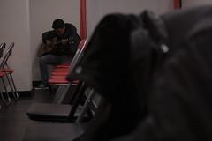 guitar player secret (edhuortiz) Tags: kevin guitar iglesia practice guitarist gutarrista
