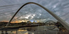 Millennium Bridge Gateshead (saleem shahid) Tags: