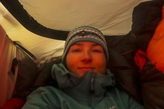 'last selfie' (sylweczka) Tags: snow storm ski expedition tent glacier adventure route cave shackleton touring skitouring sylweczka southgerogia
