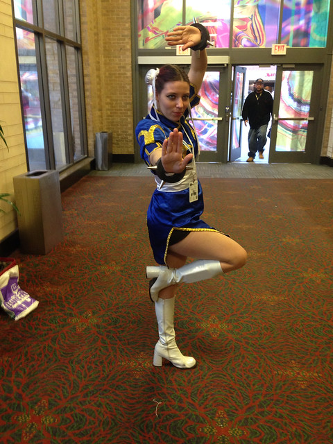 Cosplay - Chun Li from Street Fighter