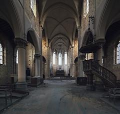 (Subversive Photography) Tags: church religious cross decay religion jesus chapel altar urbanexploration derelict pews urbex 17mmtse danielbarter sonya7r