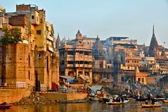 India-Varanasi-Ganges ghats (venturidonatella) Tags: india streets landscapes nikon asia ngc varanasi ganges ghat manikarnika manikarnikaghat nginationalgeographicbyitalianpeople