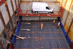 Bay 13 (larry_antwerp) Tags: haven port mercedes ship belgium vessel terminal antwerp van reefer abes schip bestelwagen messinastrait seatrade koelschip 9267546
