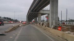 Ramp from SH 99 East to IH 45 North (123014) (FreewayDan) Tags: road highway texas houston freeway tollroad grandparkway