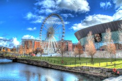 Echo Wheel Of Liverpool (Kevin From Manchester) Tags: england liverpool dock kevin ships walker hdr mersey albertdock merseyside