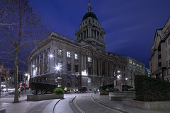Old Bailey, London (Nino Vrana) Tags: uk london architecture court lights justice criminal nighttime oldbailey