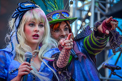 DCA - Mad T Party (EverythingDisney) Tags: alice band disney dca madhatter aliceinwonderland disneycaliforniaadventure madtparty