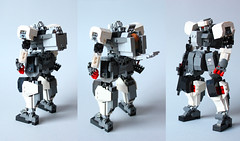 FateHeart Rz-02a Astraea - Replica by Devid VII (rear detail) (Devid VII) Tags: robot lego military rear replica suit minifig gundam mecha mech moc astraea devid fateheart devidvii