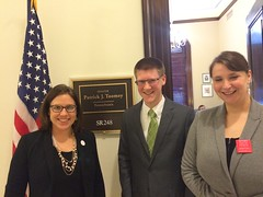 Visit to Senator Toomey's office