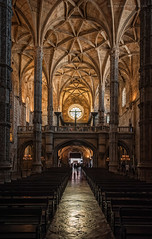Bóvedas manuelinas (Javier Martinez de la Ossa) Tags: portugal church lisboa lisbon gothic iglesia belem convent gotico manuelino bóvedas monasteriodelosjerónimos nikond700 nikkor2470 santamariadebelem javiermartinezdelaossa