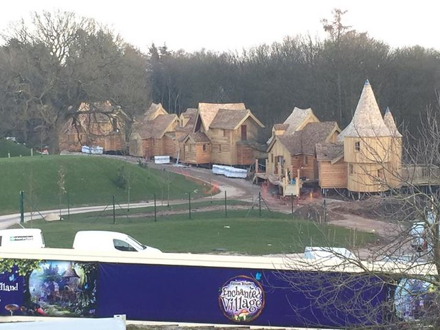 10/03/15 - The luxury treehouses are now almost complete.