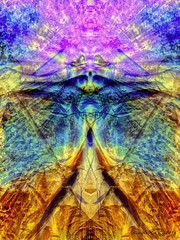 mind travelling (Camilla's photos! Thank you for viewing ) Tags: abstract art lumia photoshop digital manipulation dragon wood face bird spirit chakras mind golden pink blue yellow norway bc canada simplysuperb mirroring joy
