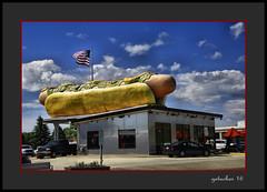 Really Big Weiner (the Gallopping Geezer 3.7 million + views....) Tags: restaurant food drink dine drivein hotdog weiner weinerlicious upnorth mackinawcity mi michigan lakehuron lakemichigan sign signage weinie mackinacbridge canon 5d3 tamron 28300 geezer 2016