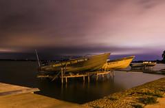 07/29/2016 - Interstellar motorboat (lalitkumarj) Tags: mendota boat madison composition night evening clouds light