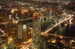 New York (gresalex) Tags: new york usa night america neon streetlife wtc nightlife