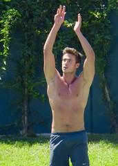 IMG_5596 (danimaniacs) Tags: shirtless man hot sexy armpit basketball hunk mansolo