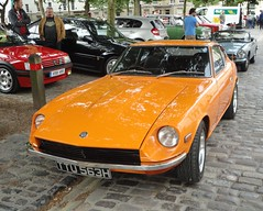 1970 DATSUN 240Z (shagracer) Tags: ttu563h avenue drivers club adc 240 z fairlady 22 queen square bristol classic car meet breakfast