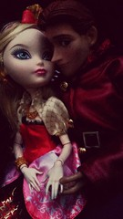 Lovie dovie (Black Rose Bride) Tags: toys frozen dolls hans custom applewhite everafterhigh