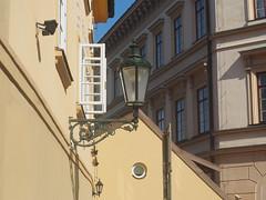 Lantern (Grazerin/Dorli B.) Tags: prague czech republic detail street window elements