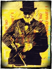 MR. FAHRENHEIT classic paste up 2011 in London (CHANTALLE HAMMER) Tags: redchurchstreet funk mrfahrenheit eastlondon pasteup cigarcoffeeyesursopornobaby spittafield super sclaterstreet streetarturbanartart uk streetartlondon sticker hyper boundarystreet stencilgraffiti hyperhyper installation urbanart hackney spittafieldfashionstreetlondonukhongkongkonghongkongeastlondon mfhmrfahrenheitmrfahrenheitursopornobabysoloshow fashionstreet bricklane 2016 stickerstickerporn streetart shoreditch spittafieldeastlondonshorditchhanburystreetbricklanepiggyflowerpowerlondon