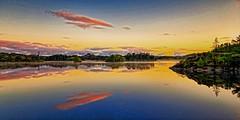 Storavatnet, Norway (Vest der ute) Tags: g7x norway rogaland ryksund waterscape seascape water clouds earlymorning fav25 fav200