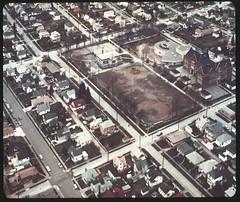 Ballard Playfield and Adams Elementary School, 1971 (Seattle Municipal Archives) Tags: seattlemunicipalarchives seattle ballard schools playfields aerials neighborhoods 1970s
