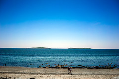 Saltee Islands (Ailís Ní hÉgeartaigh) Tags: island islands ireland sea seascape landscape land wexford europe earth world bluesky blueskies blue 2016 summer season sand sandy beach beautiful beaches sony sonya7 a7 zeiss za outdoor outside shore people