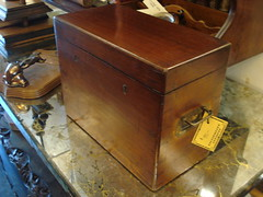 """MID-19TH CENTURY CAMPAIGN BOTTLE BOX, NO BOTTLES. • <a style=""""font-size:0.8em;"""" href=""""http://www.flickr.com/photos/51721355@N02/28532540732/"""" target=""""_blank"""">View on Flickr</a>"""