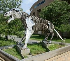 . (SA_Steve) Tags: princetonuniversity princeton campus newjersey nj princetonnj mercercounty sculpture art metal shiny