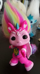 hightail3 (meimi132) Tags: zelfs zelf series6 cute adorable trolls hightail crystalwishes medium rainbow pink gem unicorn