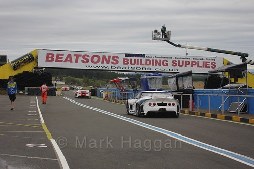 Ginetta GT4 Supercup at the BTCC Knockhill Weekend 2016