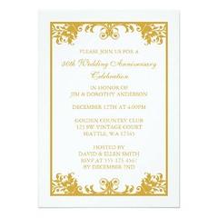 (50th Wedding Anniversary Gold Flourish Scroll Card) #40Th, #50Th, #50ThWeddingAnniversary, #55Th, #60Th, #65Th, #Anniversary, #BenefitDance, #Business, #Celebrate, #Celebration, #Charity, #Classy, #Corporate, #Dance, #Elegant, #Event, #Fancy, #Fiftieth, (CustomWeddingInvitations) Tags: 50th wedding anniversary gold flourish scroll card 40th 50thweddinganniversary 55th 60th 65th benefitdance business celebrate celebration charity classy corporate dance elegant event fancy fiftieth formal fundraiser gala golden goldenweddinganniversary homecoming marriage party popular sophisticated vintage years is available custom unique invitations store httpcustomweddinginvitationsringscakegownsanniversaryreceptionflowersgiftdressesshoesclothingaccessoriesinvitationsbinauralbeatsbrainwaveentrainmentcom50thweddinganniversarygoldflourishscrollcard weddinginvitation weddinginvitations