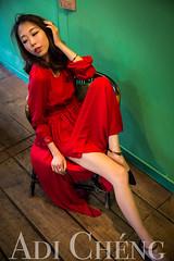 Adi_0021 (Adi Chng) Tags: adichng girl      redgreen